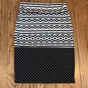 NWOT Lularoe Cassie Pencil Skirt